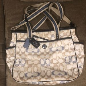 Coach Baby Tote (Diaper Bag)